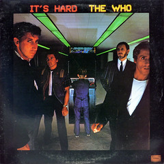 It's Hard (epiclectic) Tags: music art vintage 1982 album sandy vinyl retro collection jacket cover lp record thewho sleeve littlesteven 121212 epiclectic
