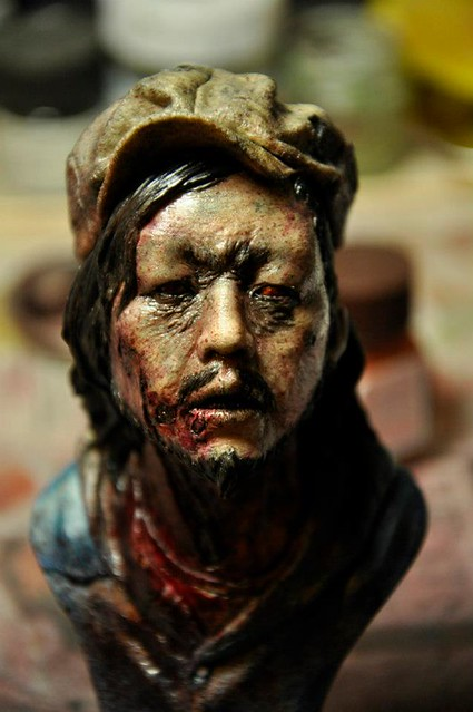 900 Sculptor Studio Zombie JOE