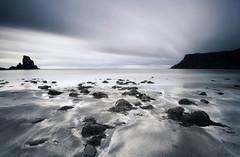 Talisker Beach on The Isle of Skye, Scotland. (3439donh) Tags: sea skye beach scotland moody tide don waters isle hooper tidal atmospheric talisker nexttonature