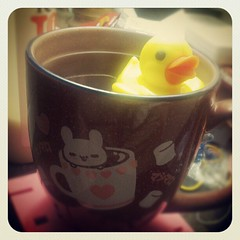 Ducky Tea (Kitsuna Ri) Tags: cute tea ducky infuser