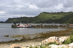 Knoydart (LYNNE Mc) Tags: scotland hikes landscapes outdoors lynnemc canon5dmk3 countryside ferry jetty people hills june2016 hiking inverie knoydart
