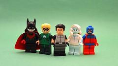 DC Figs # 1145293845 (th_squirrel) Tags: lego dc minifig minifigure minifigs minifigures batwoman kane alan scott green lantern dick grayson spyral killer frost atom
