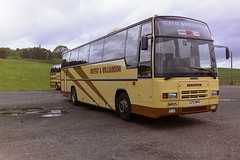 MOFFAT & WILLIAMSON G25MHG (bobbyblack51) Tags: john tiger and depot 1995 paramount leyland glenrothes fishwick plaxton moffatwilliamson g25mhg sonleyland