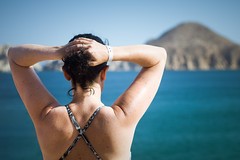 cabo view (wsphotog) Tags: cabosanlucas losarcos cabo woman sea