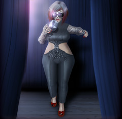 Stage me Up (Johanna Leimes) Tags: bbw secondlife masoom cute fat adorable stage linden sl chapterfour