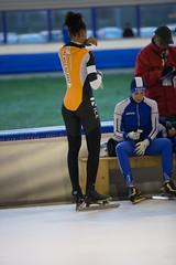A37W7072 (rieshug 1) Tags: speedskating schaatsen eisschnelllauf skating nkjunioren knsb nkjuniorenallroundafstanden afstanden allround 50010001500massstart demeent alkmaar sportcomplexdemeent juniorenc ladies dames 500m