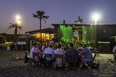 20160822_Al fresco dining (Damien Walmsley) Tags: alfrescodining alfresco barcelona evening beach seafood night warm weather