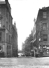 Crichton Street (Dundee City Archives) Tags: old olddundeephotos dundee photos edwardian 1900s historic buildings tylers crichtonstreet shops flats victorian tenements housing