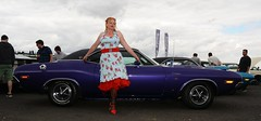 Ange L'Que_8838 (Fast an' Bulbous) Tags: classic american car vehicle automobile oldtimer girl woman hot sexy chick babe mature milf nikon d7100 gimp santa pod england nylons stockings high heels stilettos