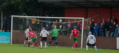 Harrogate Railway (nonleaguepap) Tags: harrogate railway athletic football club red green white black non league day grass pitch ncel fa cup northern consett