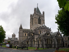 Christ Church Wide Angle Exterior Overcast Weather Dublin Ireland (HunterBliss) Tags: angle anglican architecture building buildings catholic christ church churches clouds complete culture daytime dublin europe european grey houses ireland irish landmark main monument old outdoors overcast panorama protestant religion sight spire total tourism tourist tower travel weather wid windows