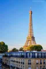 La tour Eiffel - Paris (FR) (Cdric Mayence Photography) Tags: paris france toureiffel gustaveeiffel eiffeltower avenueduprsidentwilson ruedelamanutention architecture hdr highdynamicrange