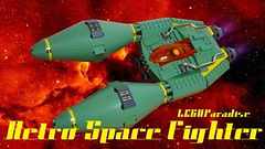Lego Retro Space Fighter (LEGOParadise) Tags: scifi spaceship starfighter