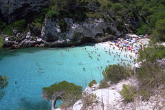 Minorca Beach (Marco Cabianca) Tags: minorca beach water blue skyblue