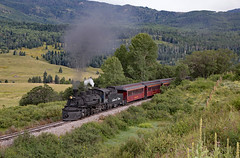 Evening Train to Cumbres (jterry618) Tags: 282 baldwin1925 cts487 chama cumbrestoltecscenicrailroad drgw487 denverriograndewestern k36 newmexico rioarribacounty riogrande unitedstates us