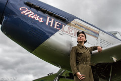 Re-enactor - The Victory Show 2016 (SHGP) Tags: douglas c47 dc3 dakota victory show 2016 aircraft warbird cockpit plane transport band brothers canon eos 700d sigma 18250mm electronics bike vehicle reenactor ww2 world war two 2 soldier radio man signal signals signaler outdoor untied states army air corps force raf royal correspondent camera pilot aircrew ground paratrooper 82nd airborne luftwaffe living history