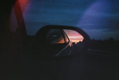 highway sunset//open road (Chloe Mighton) Tags: