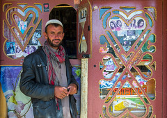 Afganh man selling music and dvd in the market, Badakhshan province, Ishkashim, Afghanistan (Eric Lafforgue) Tags: 3034years adult adultsonly afghan afghan049 afghani afghanistan badakhshanprovince bazar beard border centralasia colourimage community dvd eshkashem horizontal ishkashem ishkashim ismaili lifestyles lookingatcamera market men movie music onemanonly oneperson onlymen outdoors photography portrait shop waistup wakhan wakhi pamir afeganisto