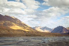 Kaza Valley (Samarth Mediratta) Tags: ifttt 500px desert spiti valley lahaul river sky clouds himalaya himalayas sunlight dusty mountains mountain brown yellow