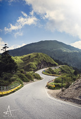 The road for the bravest. (alex_1202) Tags: landscape road climb hike tired mountain taiwan taroko national park hehuanshan hard