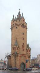Eschenheimer Turm Frankfurt (Joseph Lanzon) Tags: eschenheimer turm frankfurt gate city tower luminance gimp