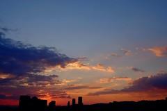Sunset  Taiwan (linwujin) Tags: asia taipei taiwan sun sunset sunshade cloud red outside outdoor view landscape fujifilm xt1 1655 sky light color colour colorfull orange