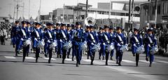 La banda de guerra de la V Brigada Area - Fifth Chilean Air Force Brigade band (Victorddt) Tags: banda fach vbrigadaarea antofagasta mejillones iiregin regindeantofagasta chile photoshop nikond7000 nikkor18200 fiestaspatrias 18despetiembre