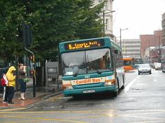 Cardiff Bus 387 (Welsh Bus 16) Tags: cardiffbus dennis dart slf plaxton pointer 387 y387gax cardiff