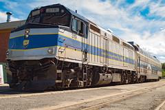 Saratoga Station (tom_bu) Tags: trains saratoga snc
