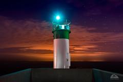 Pickering Lighthouse - Explored (Richard Adams Photography) Tags: lighthouse nightphotography ontario pickering lakeontario water night sunset