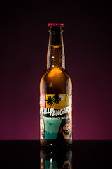 Lillpangarn (RobT4L) Tags: canon canon7dmark2 canon7dmarkii canon24105 bottle beer bryggverket lillpangarn sweden ume color colour flash elinchrom studio yongnuo productphotography 80s miami