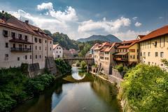 Škofja Loka (Bernd Thaller) Tags: škofjaloka skofjaloka bischoflack slovenia town city historic river bridge architecture outdoor slowenien si