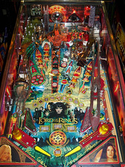 Lord Of The Rings (scottamus) Tags: pinball machine game table arcade playfield art artwork design graphics layout lordoftherings stern 2003
