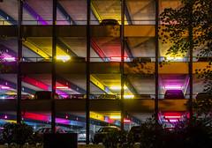 Stadtlichter (achim-51) Tags: parkhaus carpark stadtlichter unna deutschland de farben farbenspiel autos pkw car panasonic lumix dmcg5