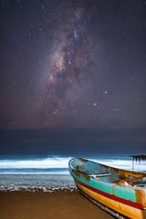Reserva natural de Monterrico (neritron) Tags: agua water sea mar night long exposure larga exposition milky way via lactea nikon d750 rokinon 24mm f14