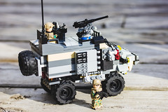 My second MRAP (Nh Nguyn ng Thanh) Tags: army moc lego legoarmy outdoor mrap sunshine