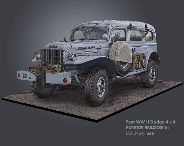 truck model utility dodge powerwagon carryall vehical digitalillustration 34ton wc53 fotocreations megashorts novaman theappleman