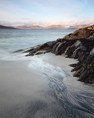Trigh Horgabost (David Kendal) Tags: seascape nd hebrides isleofharris horgabost scottishcoast soundoftaransay
