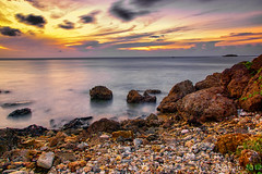 Right Before Sundown (orgazmo) Tags: longexposure landscapes seascapes sunsets guam a77 carlzeiss greatphotographers supershot sonyalpha flickraward simplysuperb 100commentgroup flickraward5 flickrawardgallery greaterphotographers greatestphotographers dslta77 cz1680mmf3545variosonnar