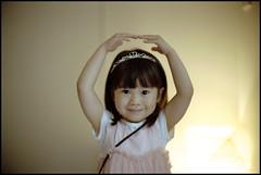 Prima Ballerina. (MichelleSimonJadaJana) Tags: portrait girl childhood japan analog 35mm children 50mm tokyo kid nikon scanner documentary lifestyle snaps  epson  nikkor fm3a ais flatbed f12 jada vuescan v750 gtx970