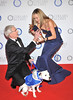 Paul O'Grady and Amanda Holden Battersea Dogs & Cats Home 'Collars & Coats Gala Ball 2012' held at Battersea Evolution - Arrivals London, England