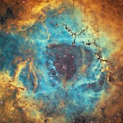 The Heart Of A Rose (The Rosette Nebula in HST) (Terry Hancock www.downunderobservatory.com) Tags: camera sky monochrome night stars photography mono pier back backyard fotografie photos thomas space shed band science images astro apo m observatory telescope nebula astronomy imaging ccd universe rosette narrow cosmos constellation palette paramount hubble luminance the lodestar teleskop astronomie byo oiii refractor deepsky monoceros halpha ngc2237 ngc2244 astrograph autoguider starlightxpress ngc2238 ngc2239 Astrometrydotnet:status=solved ngc2246 Astrometrydotnet:version=14400 tmb92ss caldwell49 mks4000 qhy9m gt110s Astrometrydotnet:id=alpha20121141710324