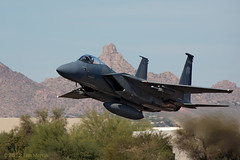F-15C Eagle (Tom_Morris Photos) Tags: eagle f15 scottsdaleairport sdl f15c ksdl 173rdfw scottsdaleairfair