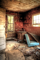 abandoned house - front room (Jhawk) Tags: old usa abandoned rural texas country forgotten hdr dilapidated jren nov10throadtripmomi