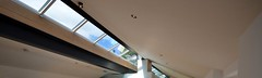 Completed rooflight with mirror (Photograph courtesy of Inscape Joinery)