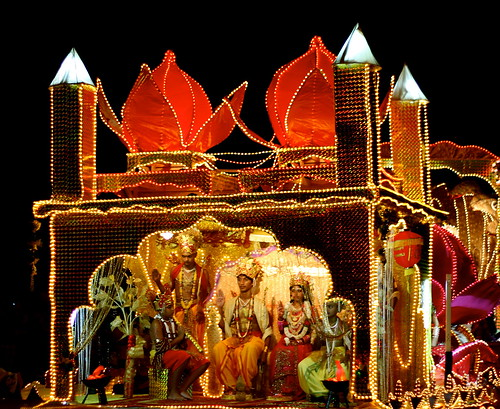 Deepavali float. by Therese Yarde, on Flickr