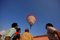 Fanush-the hot air baloon (Samir D) Tags: festival canon kolkata bengal calcutta bangla 2012 fanush westbengal sigma1020 kalipuja canon40d canon40dcanon beadonstreet samird