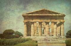 SAVE0777  Italy -Paestum -Temple of Hera- Explore (angelo appoloni) Tags: greek campania era dio paestum neptune dea nettuno templi greci campaniapaestum templesgoddessheragod