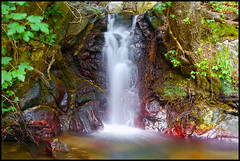 ...fresh shower... (zio paperino) Tags: autumn italy fall nature water foglie waterfall agua nikon rocks europa europe italia natura acqua autunno calabria catanzaro d800 cascata sersale ziopaperino mygearandme d800e