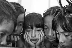 The World is not What It Seems to Be (Juan Diego Rivas) Tags: girls portrait blackandwhite blancoynegro girl animal kids project children sadness pentax retrato abuse animalabuse photographyproject pentaxk5